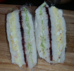 Inkigayo Sandwich – What Happens when Egg Salad Meets Strawberry Jam