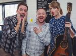 Tay Tay surprises newly engaged couple with a personal performance