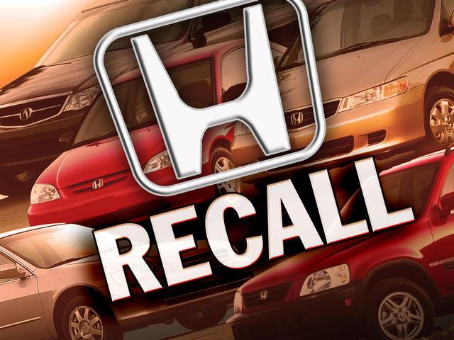 Recalls Honda Com >> Honda Recalls 84 000 Cars In Canada Nci Fm